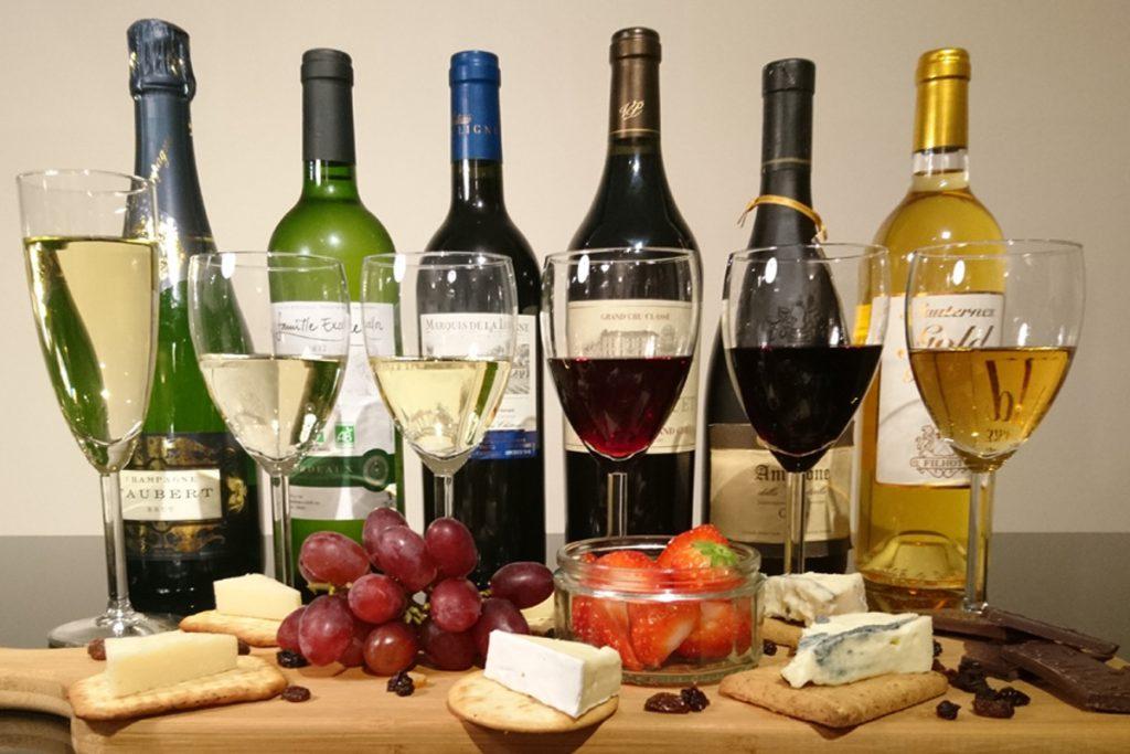 Wine assortiment